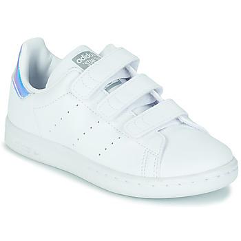 Schuhe Mädchen Sneaker Low adidas Originals STAN SMITH CF C SUSTAINABLE Weiss