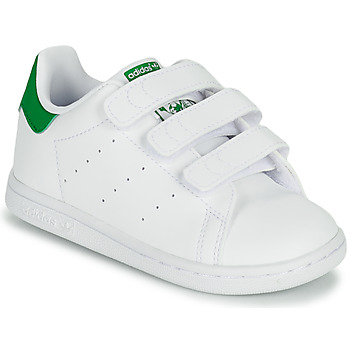 Schuhe Kinder Sneaker Low adidas Originals STAN SMITH CF I SUSTAINABLE Weiss / Grün