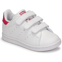 Schuhe Mädchen Sneaker Low adidas Originals STAN SMITH CF I SUSTAINABLE Weiss / Rose