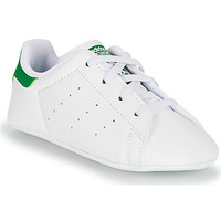 Schuhe Kinder Sneaker Low adidas Originals STAN SMITH CRIB SUSTAINABLE Weiss / Grün