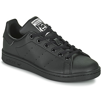 Schuhe Kinder Sneaker Low adidas Originals STAN SMITH J SUSTAINABLE Schwarz