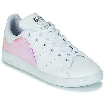 Schuhe Mädchen Sneaker Low adidas Originals STAN SMITH J SUSTAINABLE Weiss