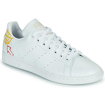 Schuhe Damen Sneaker Low adidas Originals STAN SMITH W SUSTAINABLE Weiss / Multicolor
