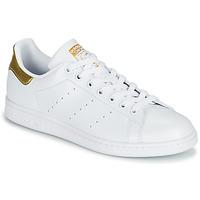 Schuhe Damen Sneaker Low adidas Originals STAN SMITH W SUSTAINABLE Weiss / Gold