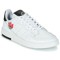 Schuhe Damen Sneaker Low adidas Originals SUPERCOURT Weiss / Schwarz