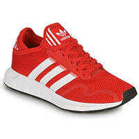 Schuhe Kinder Sneaker Low adidas Originals SWIFT RUN X J Rot
