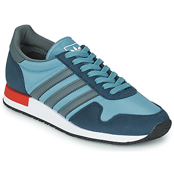 Schuhe Sneaker Low adidas Originals USA 84 Blau