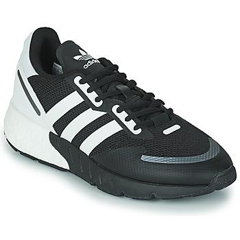 Schuhe Sneaker Low adidas Originals ZX 1K BOOST Schwarz / Weiss