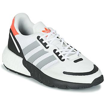 Schuhe Kinder Sneaker Low adidas Originals ZX 1K BOOST J Weiss / Grau