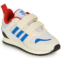 Schuhe Kinder Sneaker Low adidas Originals ZX 700 HD CF I Beige / Blau