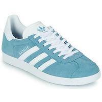Schuhe Damen Sneaker Low adidas Originals GAZELLE W Blau