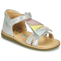 Schuhe Mädchen Sandalen / Sandaletten Shoo Pom TITY FALLS Silbern