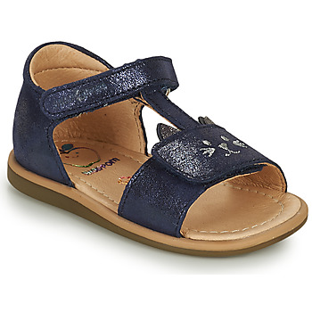 Schuhe Mädchen Sandalen / Sandaletten Shoo Pom TITY MIAOU Blau