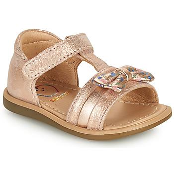 Schuhe Mädchen Sandalen / Sandaletten Shoo Pom TITY NEW KNOT Rose