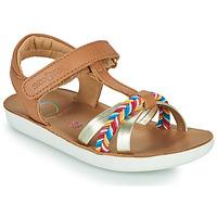 Schuhe Mädchen Sandalen / Sandaletten Shoo Pom GOA SALOME Braun