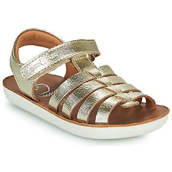 Schuhe Mädchen Sandalen / Sandaletten Shoo Pom GOA SPART Silbern