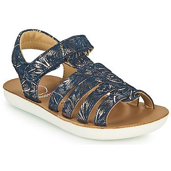 Schuhe Mädchen Sandalen / Sandaletten Shoo Pom GOA SPART Blau