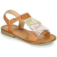 Schuhe Mädchen Sandalen / Sandaletten Shoo Pom HAPPY FALLS Braun