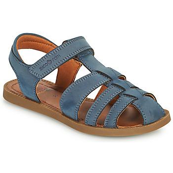 Schuhe Jungen Sandalen / Sandaletten Shoo Pom SOLAR TONTON Blau