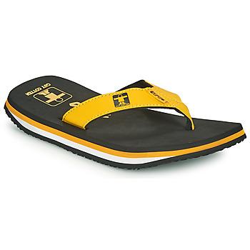 Schuhe Herren Zehensandalen Cool shoe ORIGINAL Schwarz / Gelb