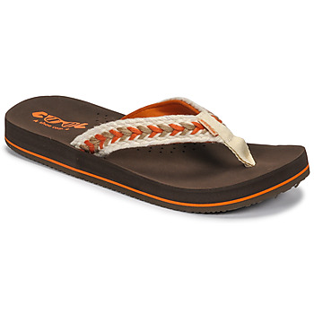 Schuhe Damen Zehensandalen Cool shoe NUBE Braun