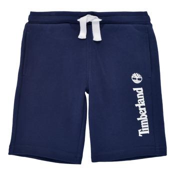 Kleidung Jungen Shorts / Bermudas Timberland SHOTA Marine