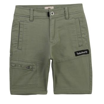 Kleidung Jungen Shorts / Bermudas Timberland KLOPA Kaki