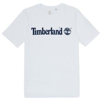 Kleidung Jungen T-Shirts Timberland FONTANA Weiss