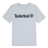 Kleidung Jungen T-Shirts Timberland NINNO Grau