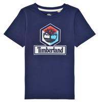 Kleidung Jungen T-Shirts Timberland GRISS Marine