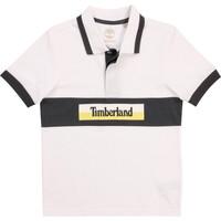 Kleidung Jungen Polohemden Timberland DOTTO Weiss