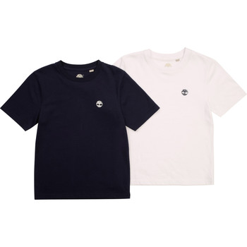 Kleidung Jungen T-Shirts Timberland FONNO Multicolor