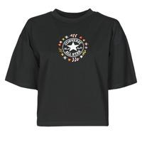 Kleidung Damen T-Shirts Converse CHUCK WOMENS WANDER TANK Schwarz