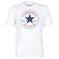 Kleidung Herren T-Shirts Converse NOVA CHUCK PATCH TEE Weiss