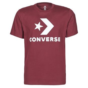 Kleidung Herren T-Shirts Converse STAR CHEVRON TEE Bordeaux