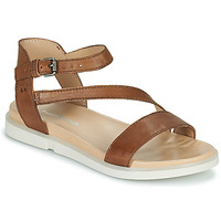 Schuhe Damen Sandalen / Sandaletten Dream in Green OURY Braun