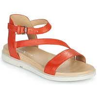 Schuhe Damen Sandalen / Sandaletten Dream in Green OURY Orange