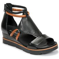 Schuhe Damen Sandalen / Sandaletten Dream in Green LIRABIEN Schwarz
