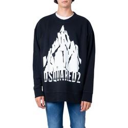 Kleidung Herren Sweatshirts Dsquared S74GU0339 Nero