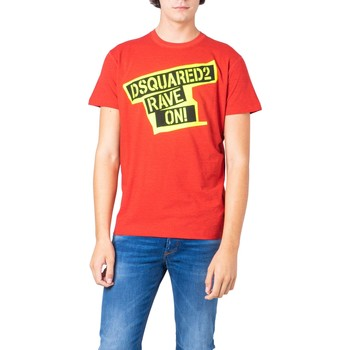 Kleidung Herren T-Shirts Dsquared S74GD0593 Rosso