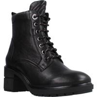 Schuhe Damen Low Boots Stonefly TRESY 1 WASHED GOAT Schwarz