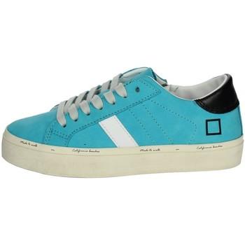 Schuhe Mädchen Sneaker Low Date J301 Himmelblau
