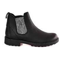 Schuhe Kinder Boots Grunland PO1384 Schwarz