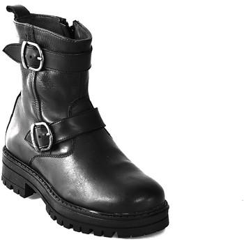 Schuhe Kinder Boots Asso 67961 Schwarz