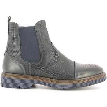 Schuhe Herren Boots Rogers 2008B Blau