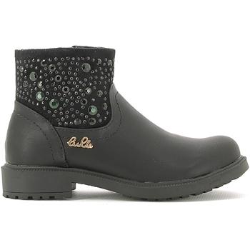 Schuhe Kinder Boots Lulu LL110015S Schwarz