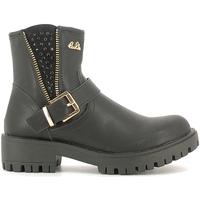 Schuhe Kinder Boots Lulu LL120008S Schwarz