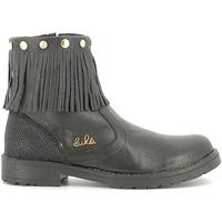 Schuhe Kinder Boots Lulu LL100020L Schwarz