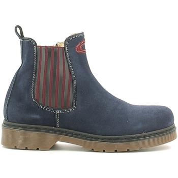 Schuhe Kinder Boots Alberto Guardiani GK22806G Blau