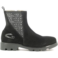 Schuhe Kinder Boots Alberto Guardiani GK22804G Schwarz